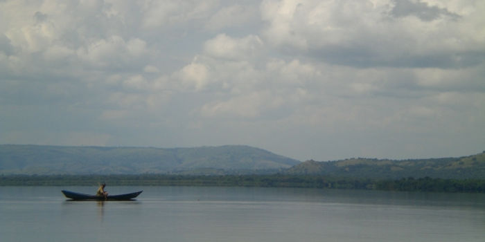 Fishing in Lake Mburo