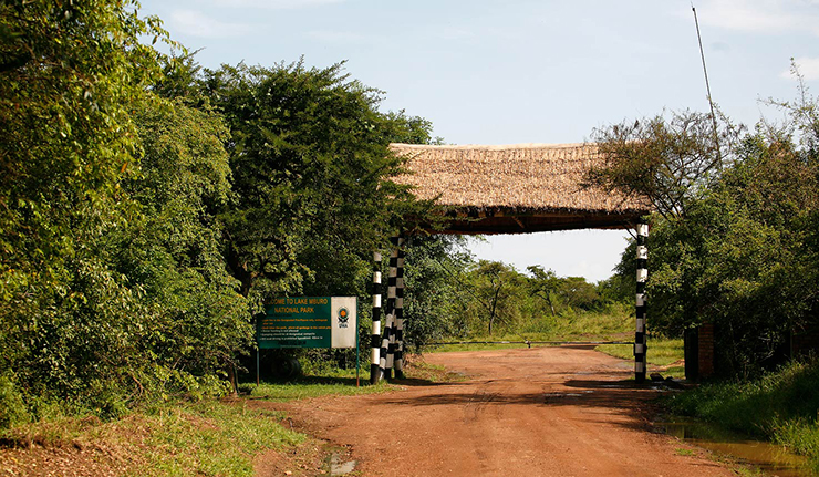 Gates of Lake Mburo
